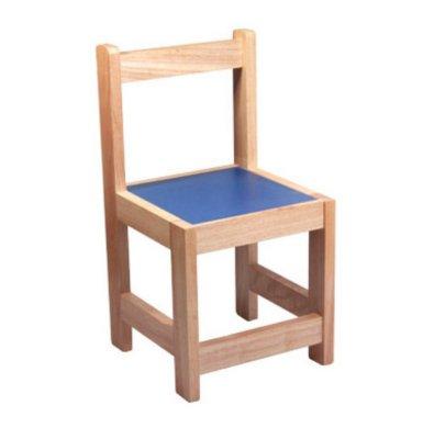 silla para preescolar madera